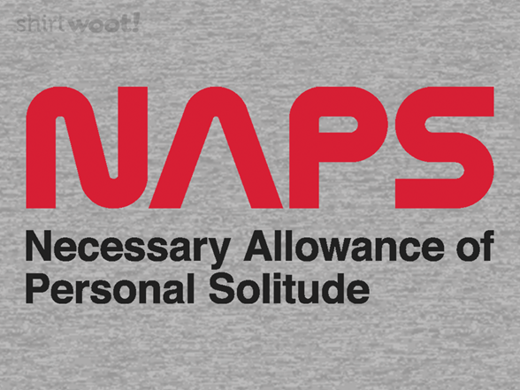 Necessary Allowance Of Personal Solitude T Shirt