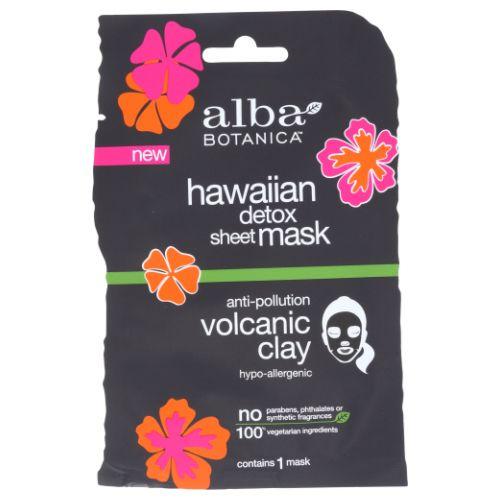 Hawaiin Detox Sheet Mask 1 Each by Alba Botanica