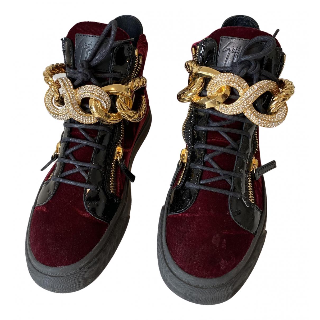 Giuseppe Zanotti \N Sneakers in Leder