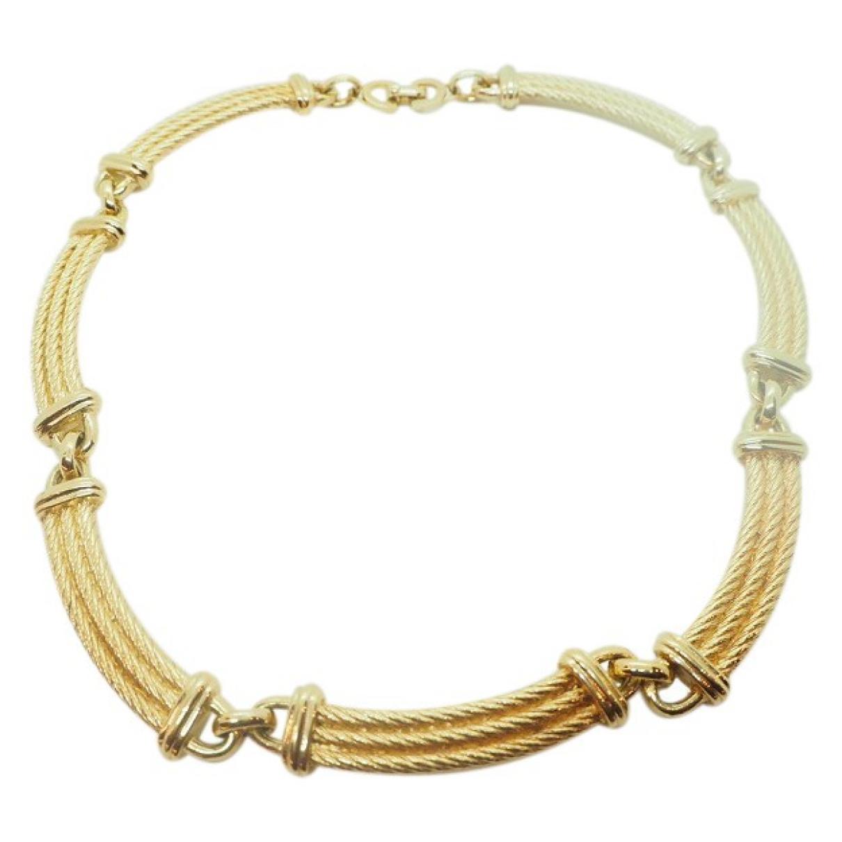 Dior \N Kette in  Gold Vergoldet
