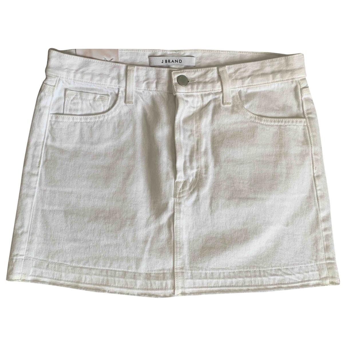 J Brand \N White Denim - Jeans skirt for Women 8 UK