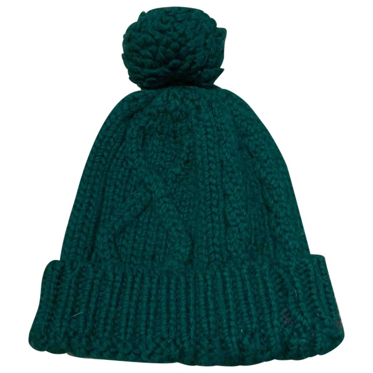 Dsquared2 - Chapeau & Bonnets   pour homme en laine - vert