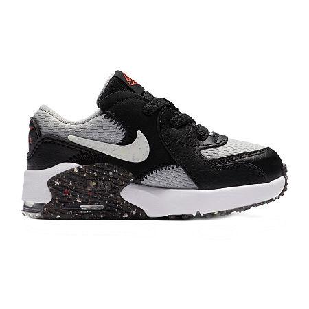 Nike Air Max Excsee Toddler Boys Running Shoes, 8 Medium, Black