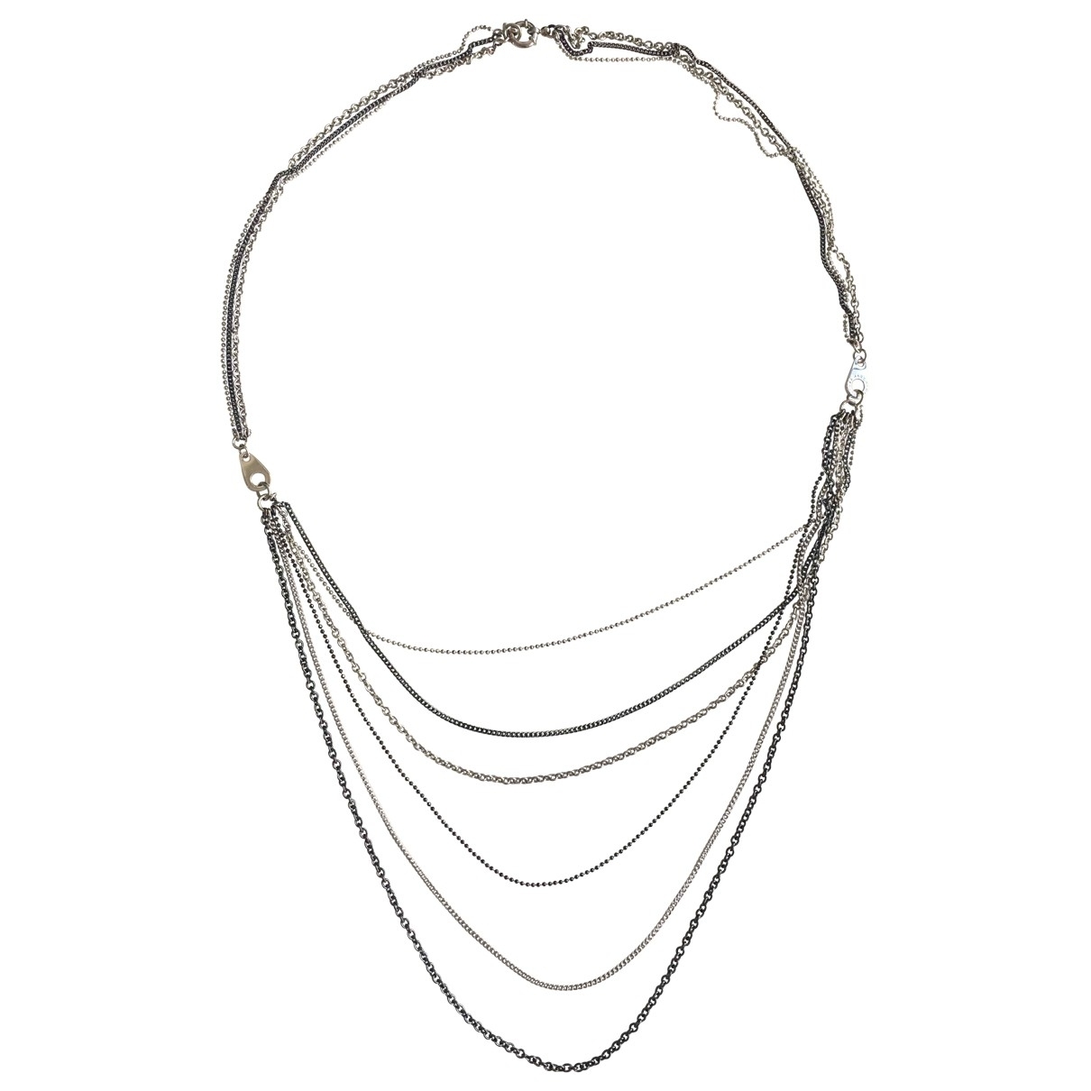 Marc By Marc Jacobs \N Silver Metal Long necklace for Women \N