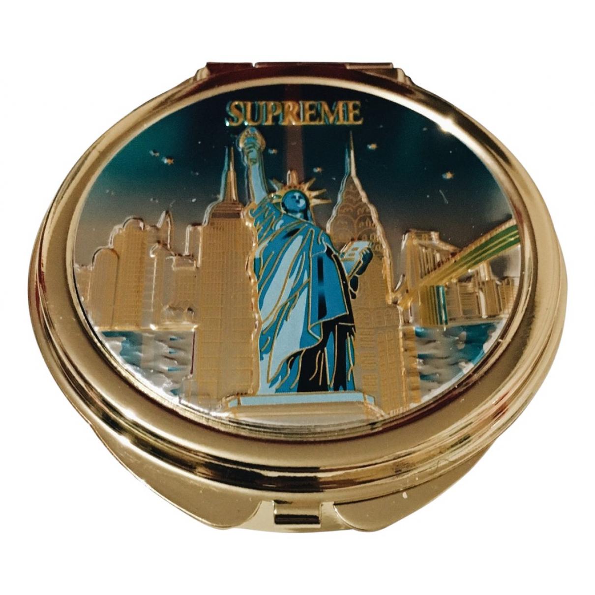 Supreme - Objets & Deco   pour lifestyle en plaque argent - dore