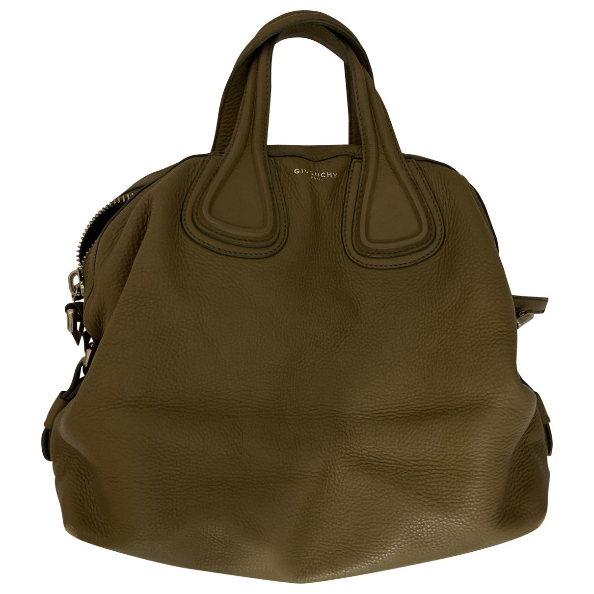 Givenchy - Sac a main Nightingale pour femme en cuir - vert