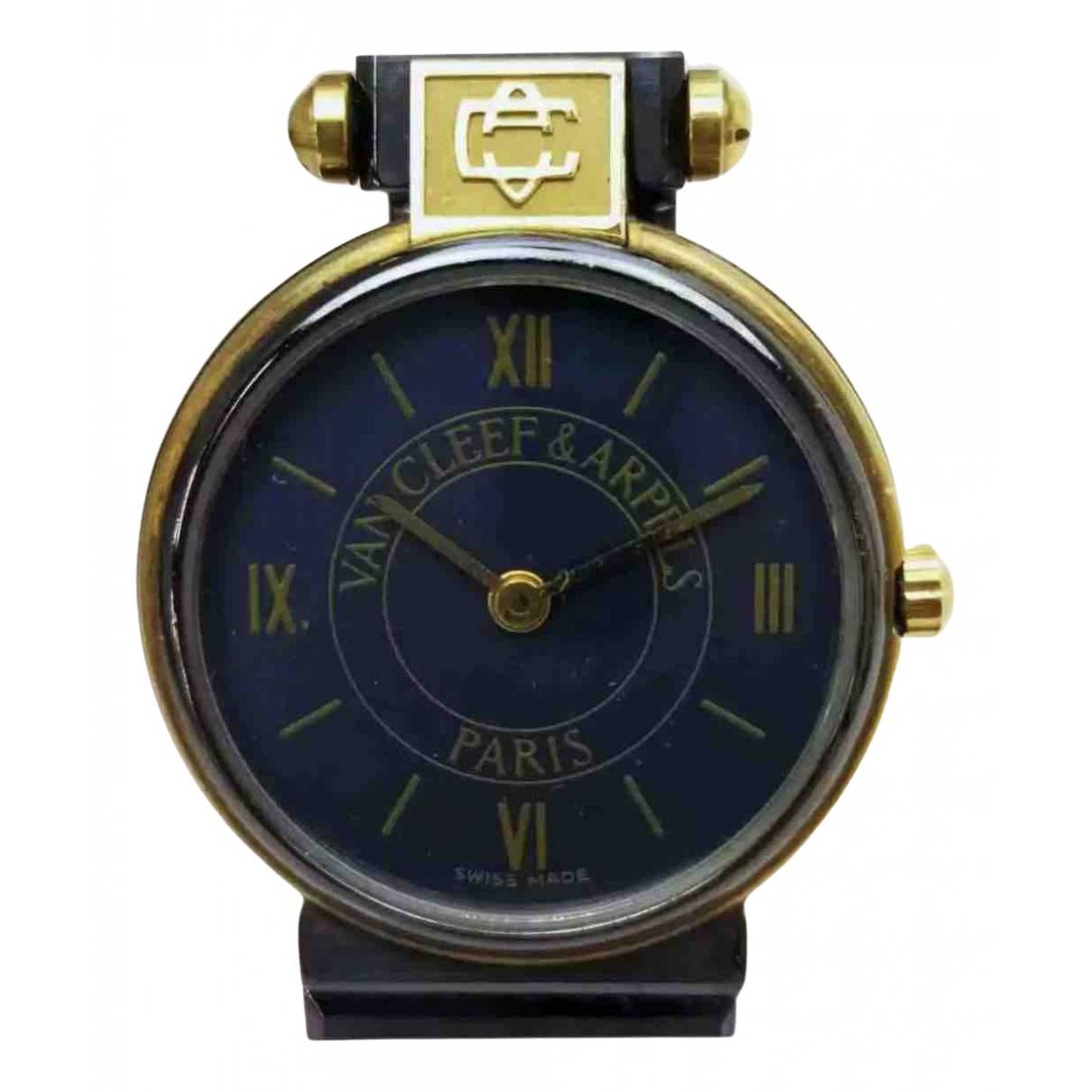 Van Cleef & Arpels \N Uhr in  Blau Stahl
