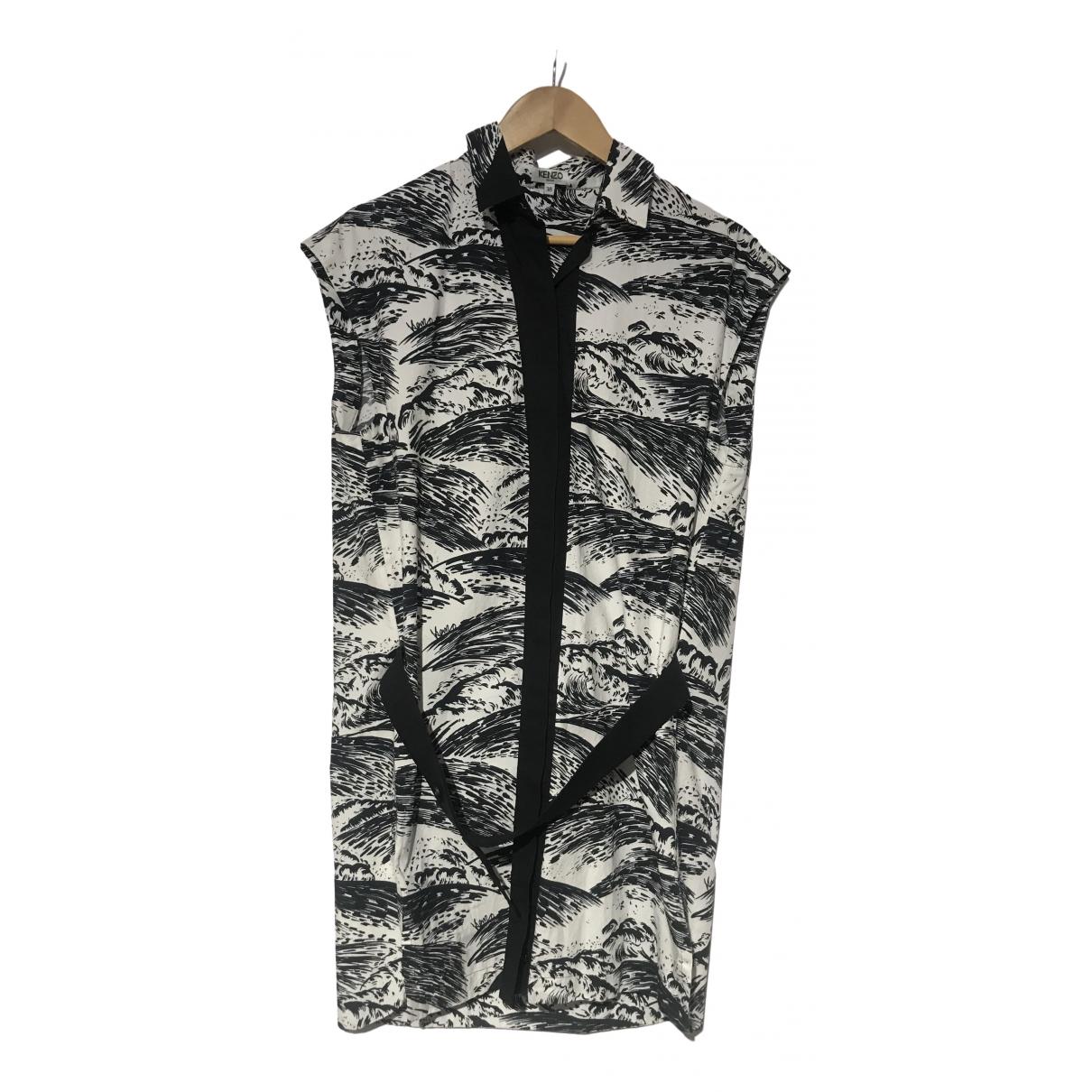 Kenzo \N Kleid in Baumwolle