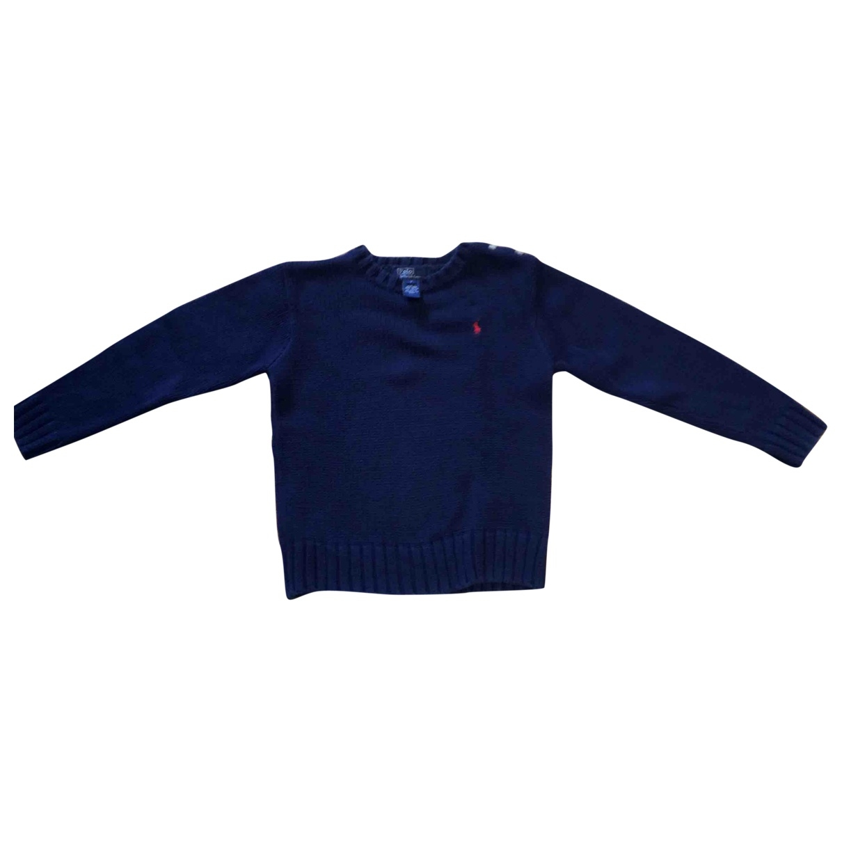 Polo Ralph Lauren \N Blue Cotton Knitwear for Kids 6 years - until 45 inches UK