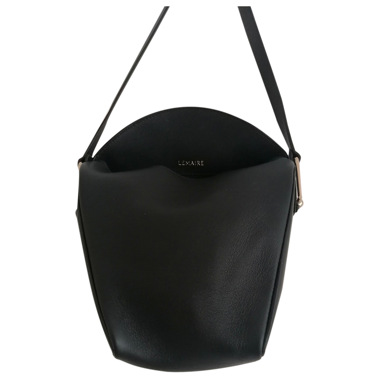 Lemaire \N Black Leather handbag for Women \N