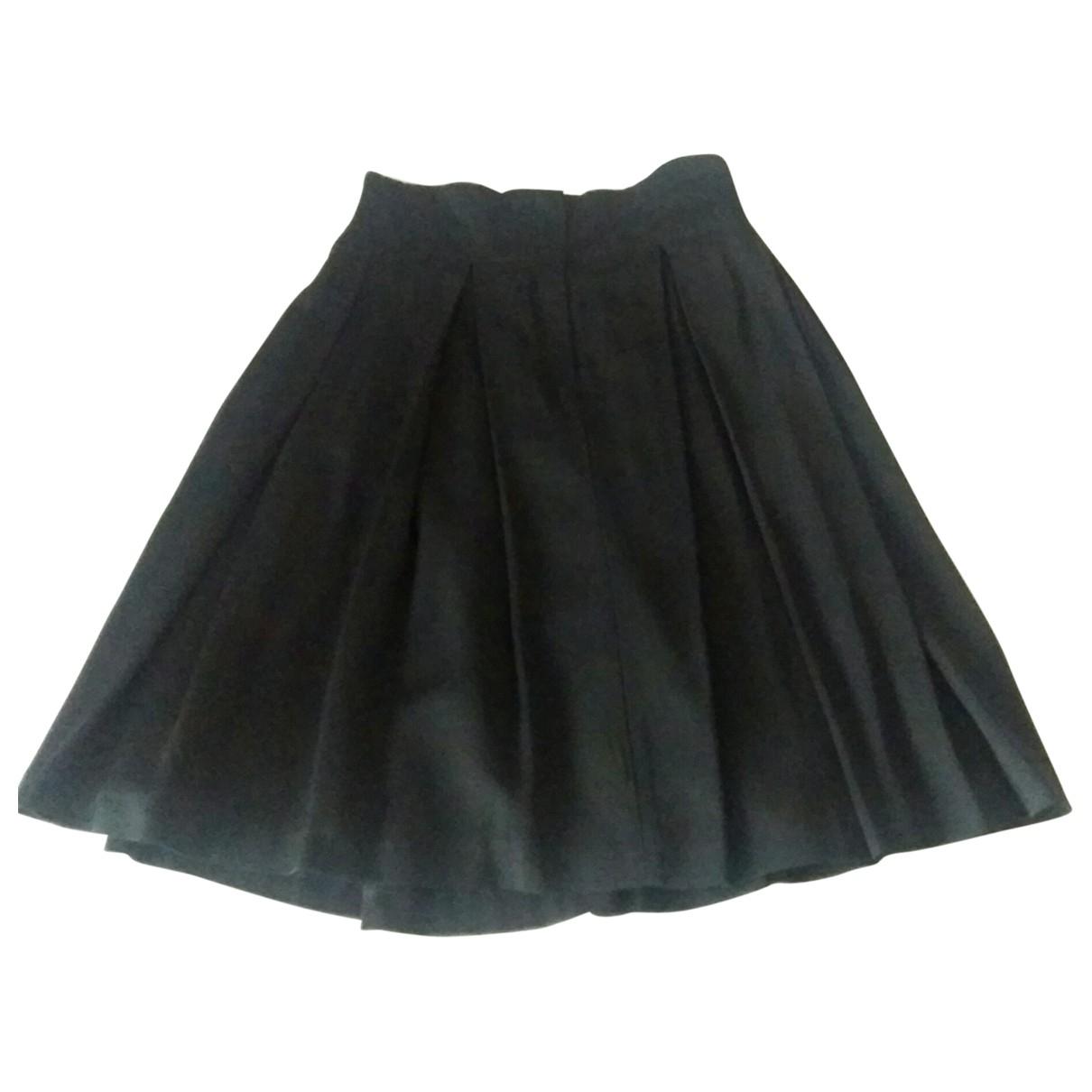 Elisabetta Franchi - Jupe   pour femme en laine - noir