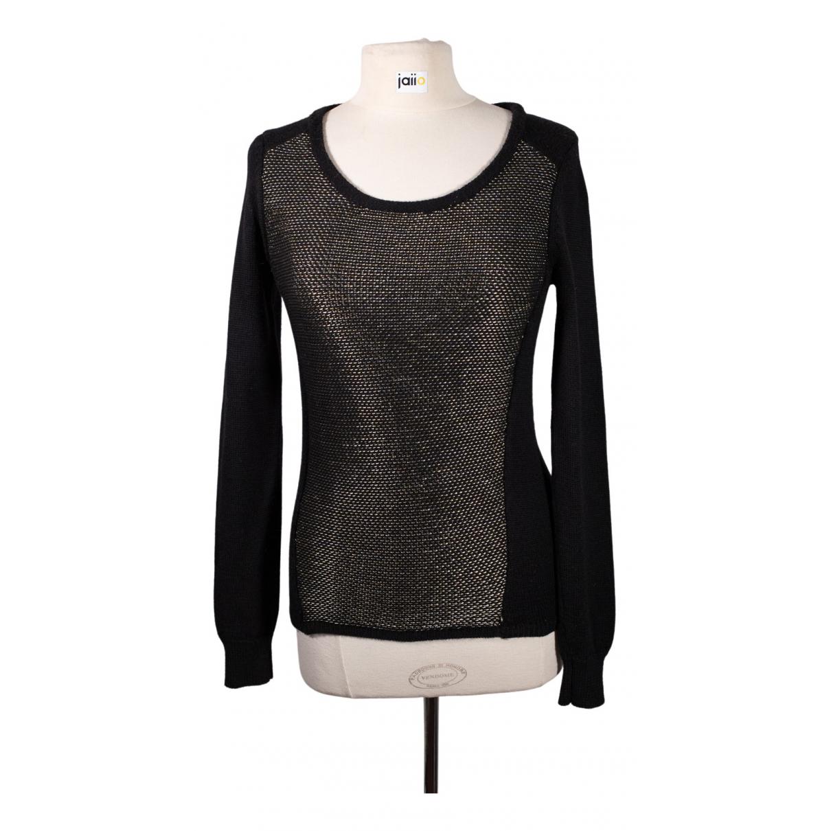 Berenice - Top   pour femme en laine - noir
