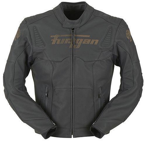 Furygan Sherman Chaqueta Motorista De Cuero Negro 3XL
