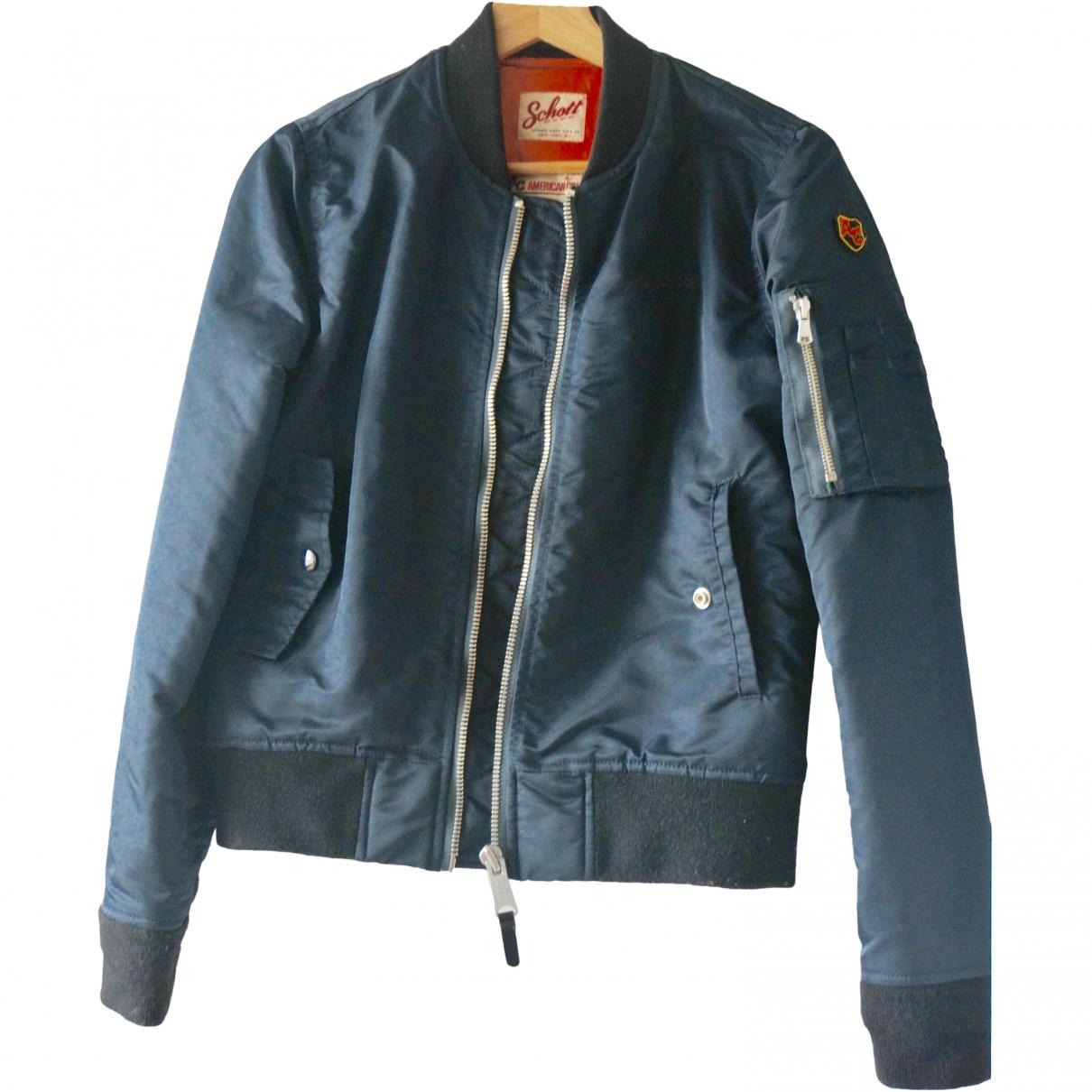 Schott \N Blue jacket for Women M International