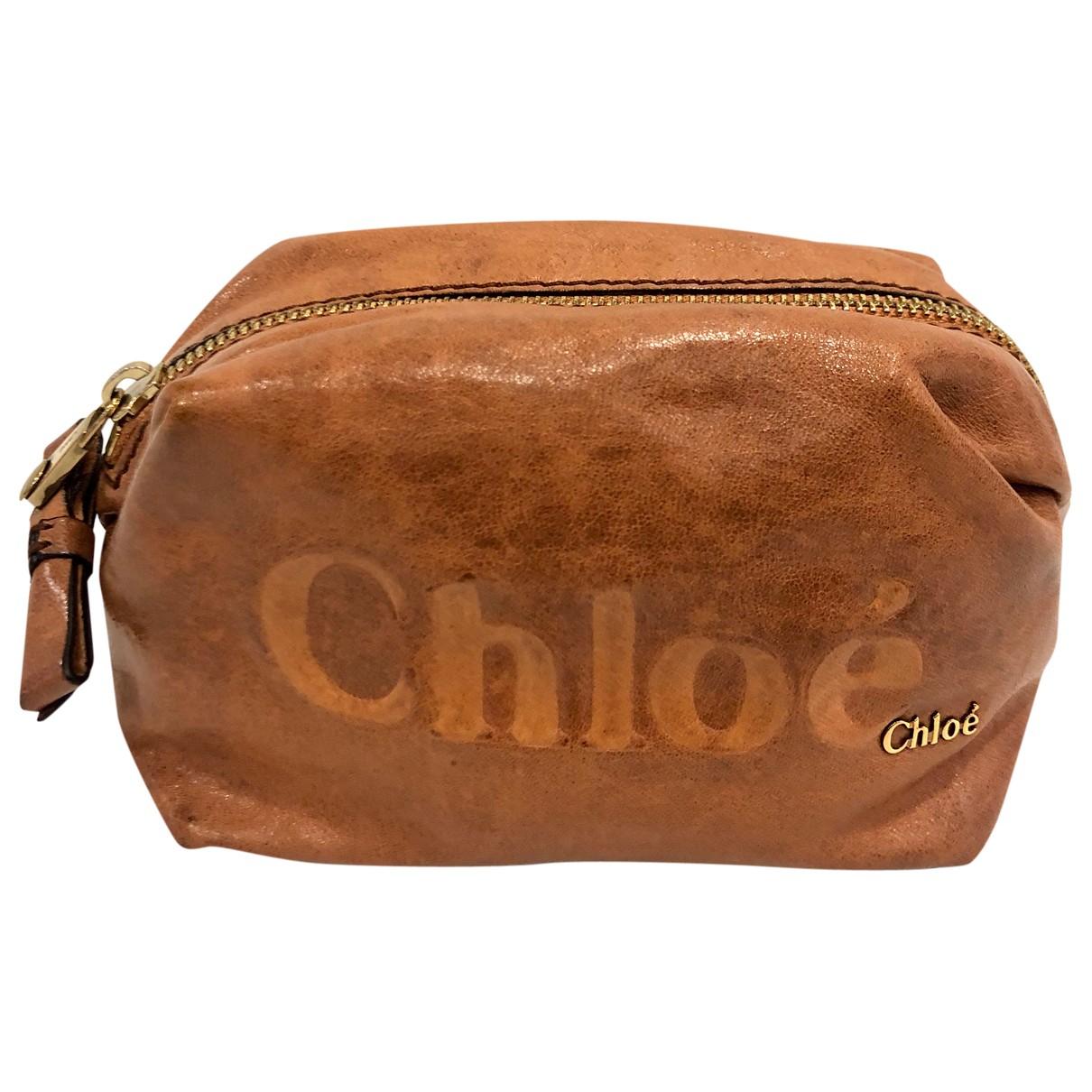 Chloe - Sac de voyage   pour femme en cuir - marron