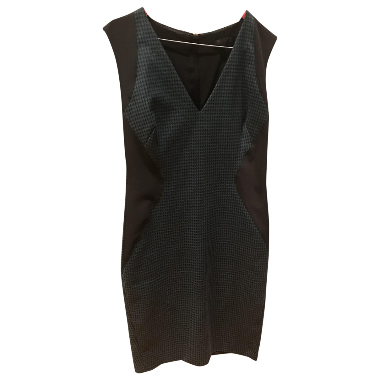 Pinko - Robe   pour femme en coton - noir
