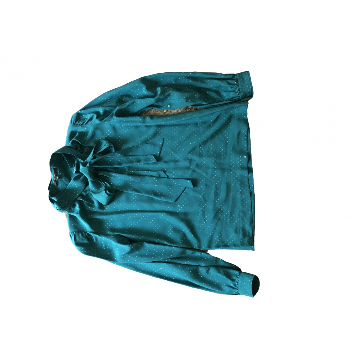 Gucci \N Turquoise Silk  top for Women XS International