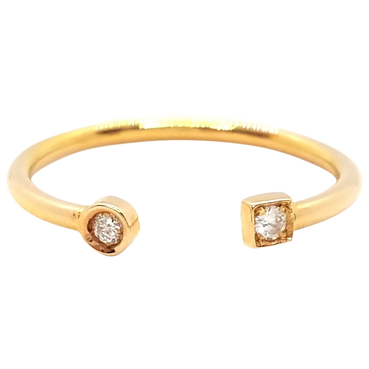 Autre Marque \N Ring in  Rosa Rosegold