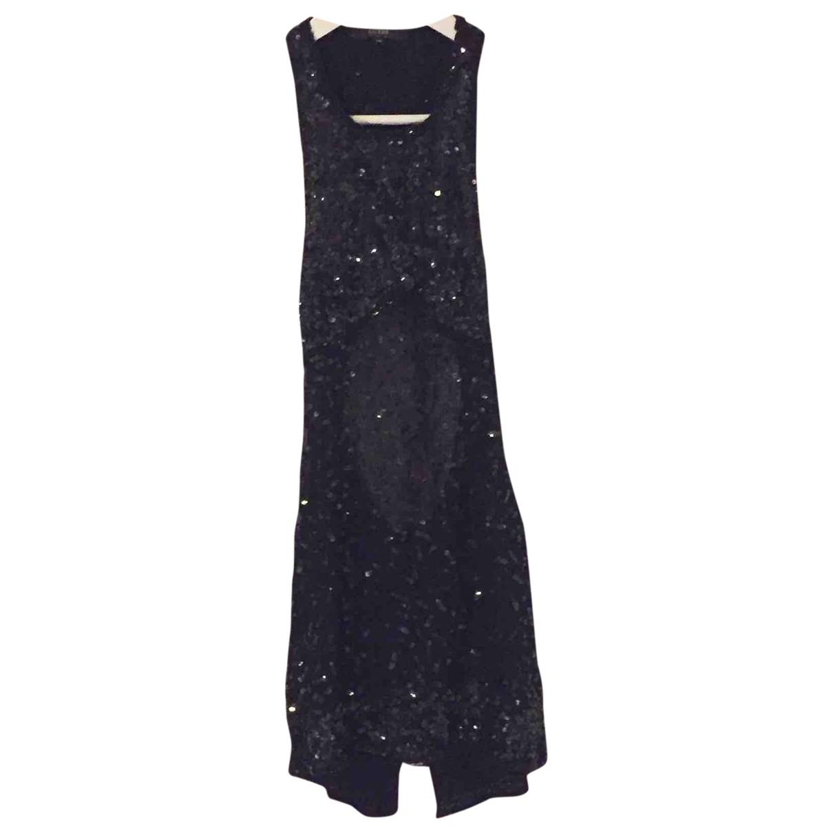 Guess \N Black Silk dress for Women 40 IT
