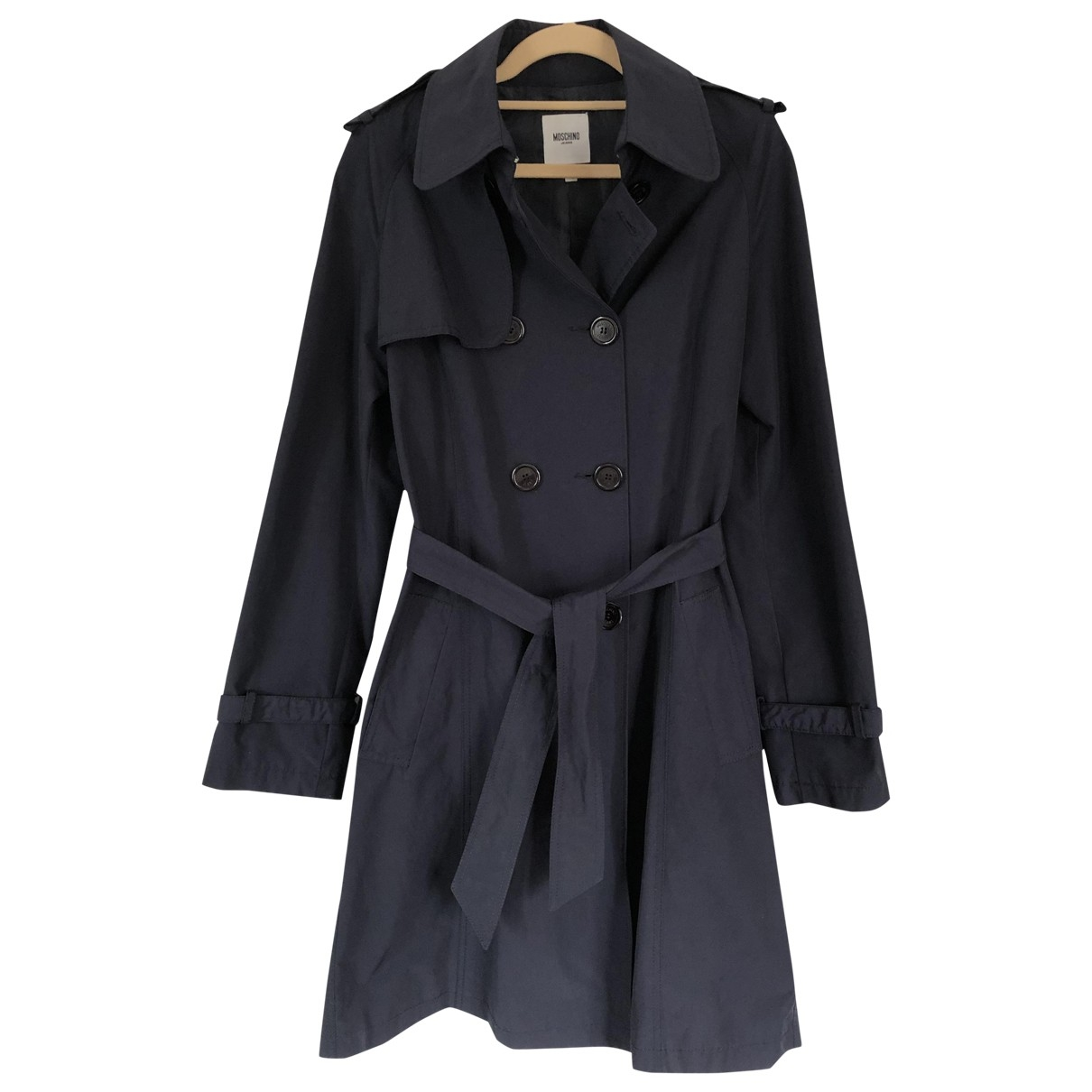 Moschino Cheap And Chic - Manteau   pour femme - marine