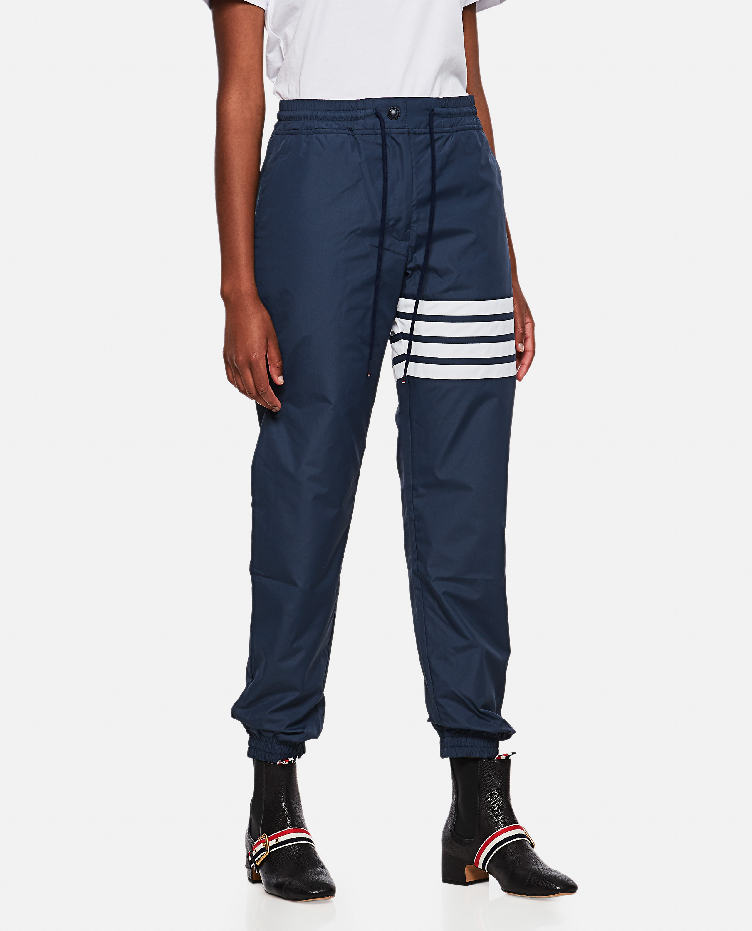 Sports trousers with stripes