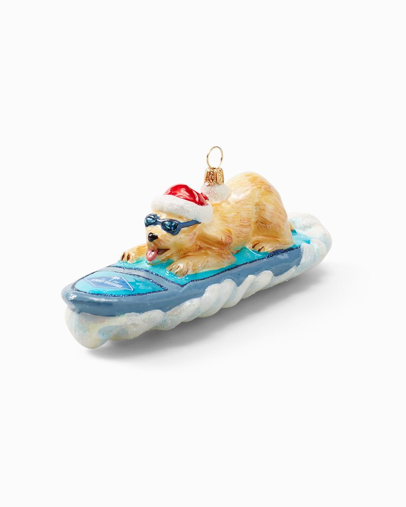 Surf Dog Ornament