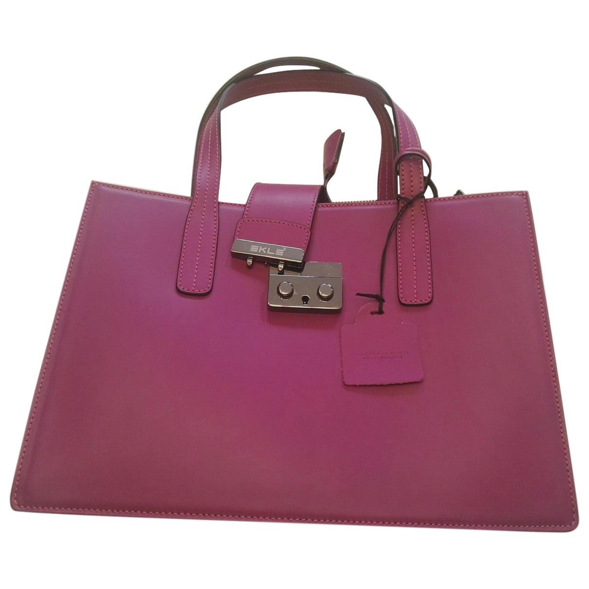 Autre Marque - Sac a main   pour femme en cuir - violet