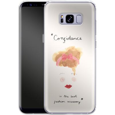 Samsung Galaxy S8 Plus Silikon Handyhuelle - Confidence von caseable Designs