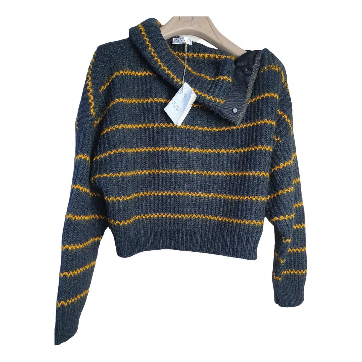 Brunello Cucinelli \N Grey Cashmere Knitwear for Women M International
