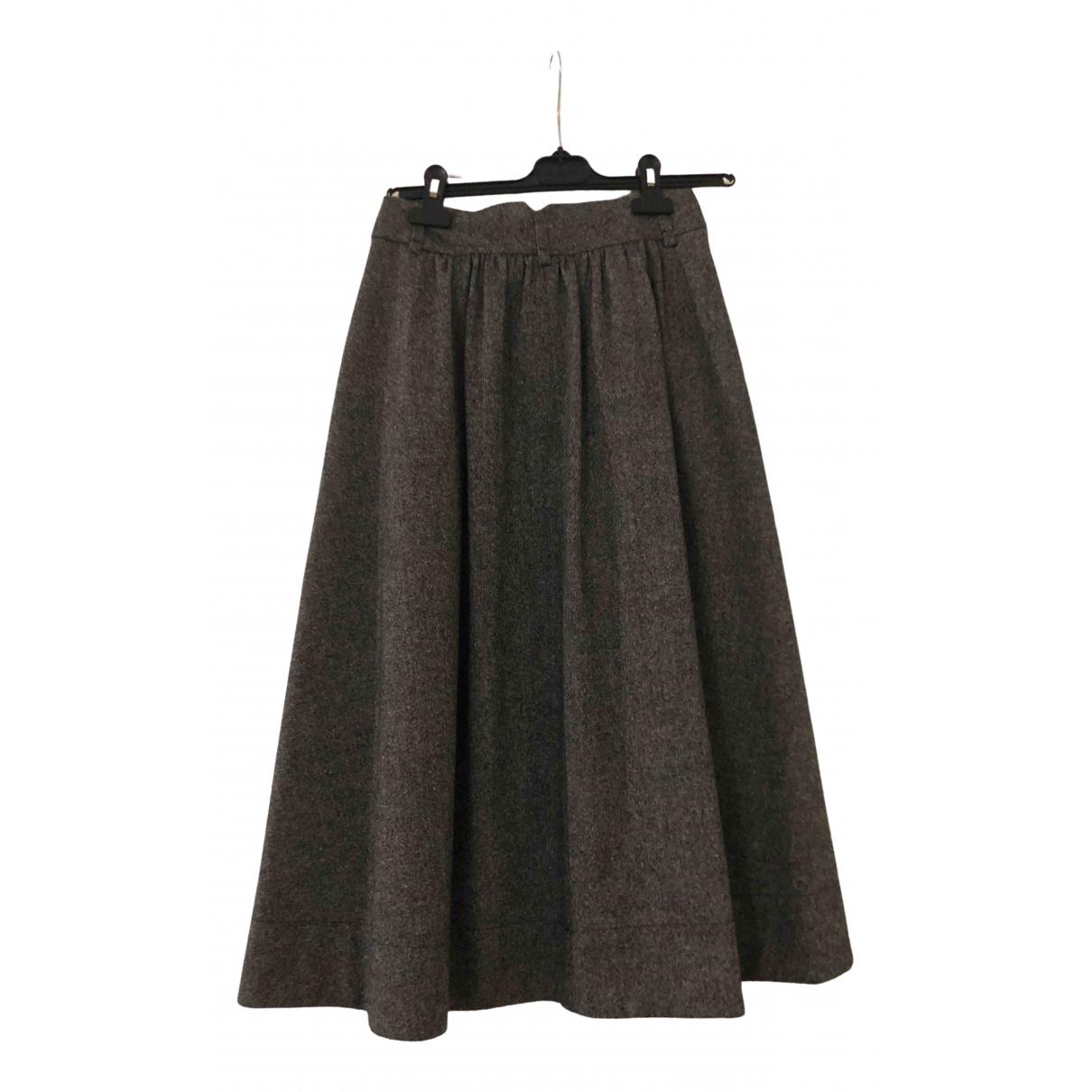 Comptoir Des Cotonniers \N Rocke in  Grau Wolle