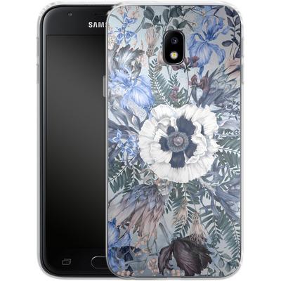 Samsung Galaxy J3 (2017) Silikon Handyhuelle - Frost von Stephanie Breeze