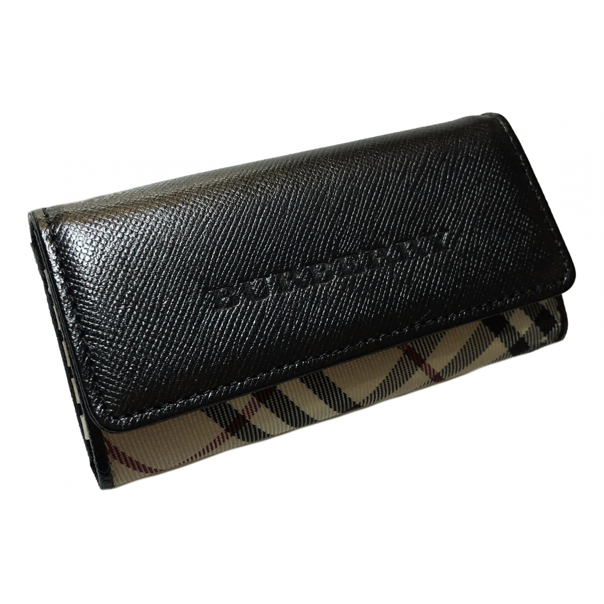 Burberry \N Black Leather Purses, wallet & cases for Women \N