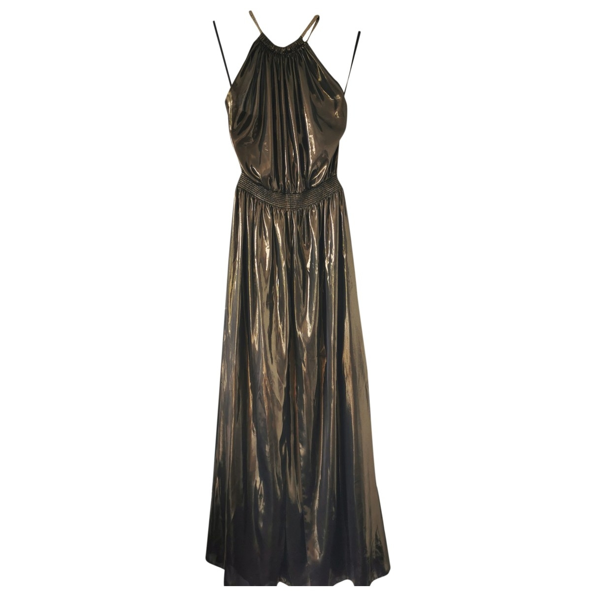 Just Cavalli \N Kleid in  Gold Polyester