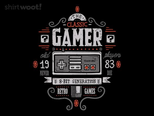 The Classic Gamer T Shirt