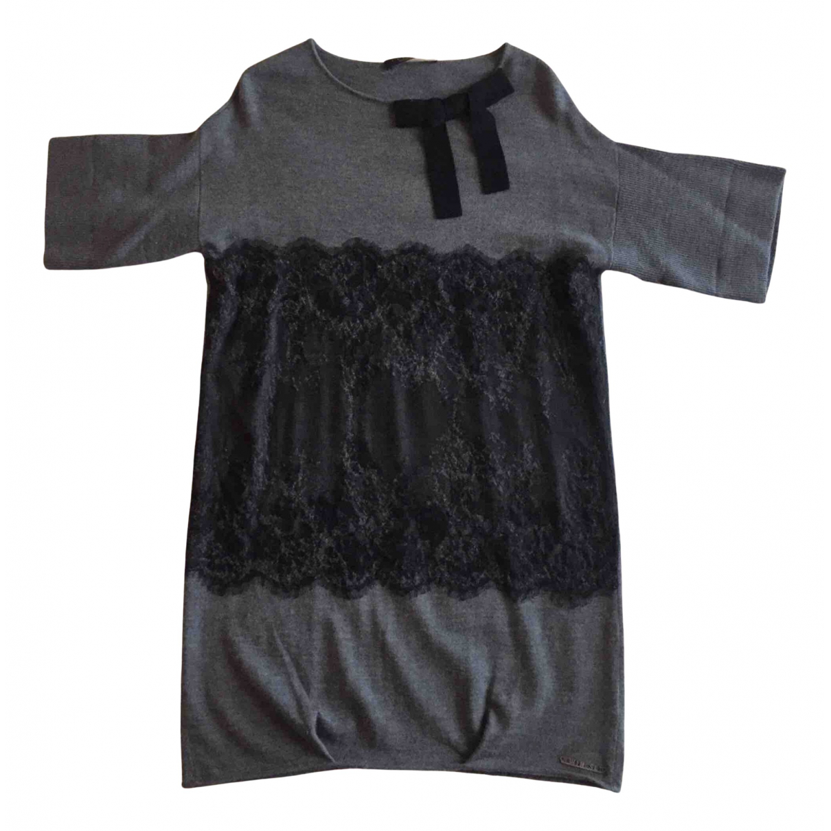 Twin Set N Grey Wool dress for Women S International