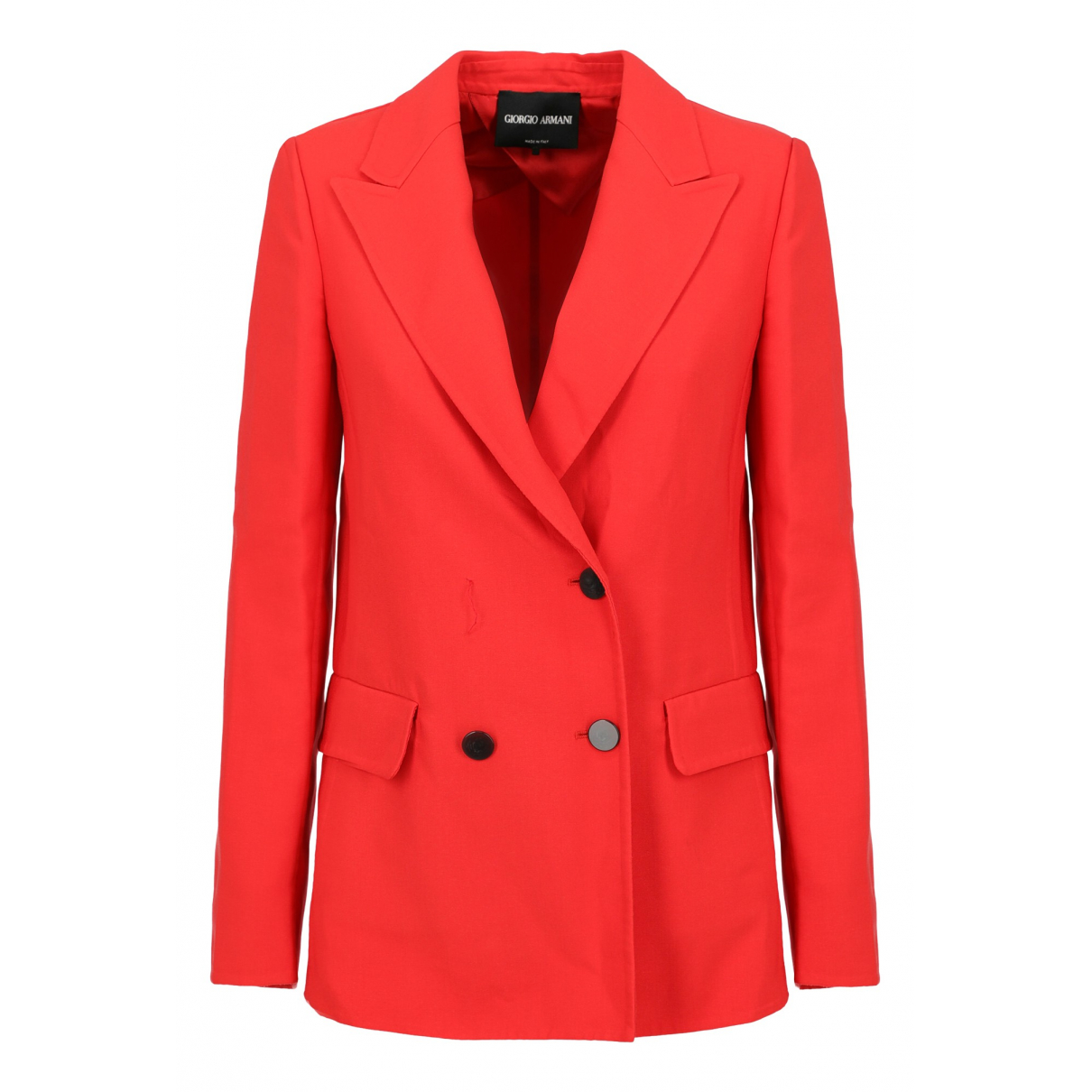 Giorgio Armani N Red Cotton jacket for Women 40 IT