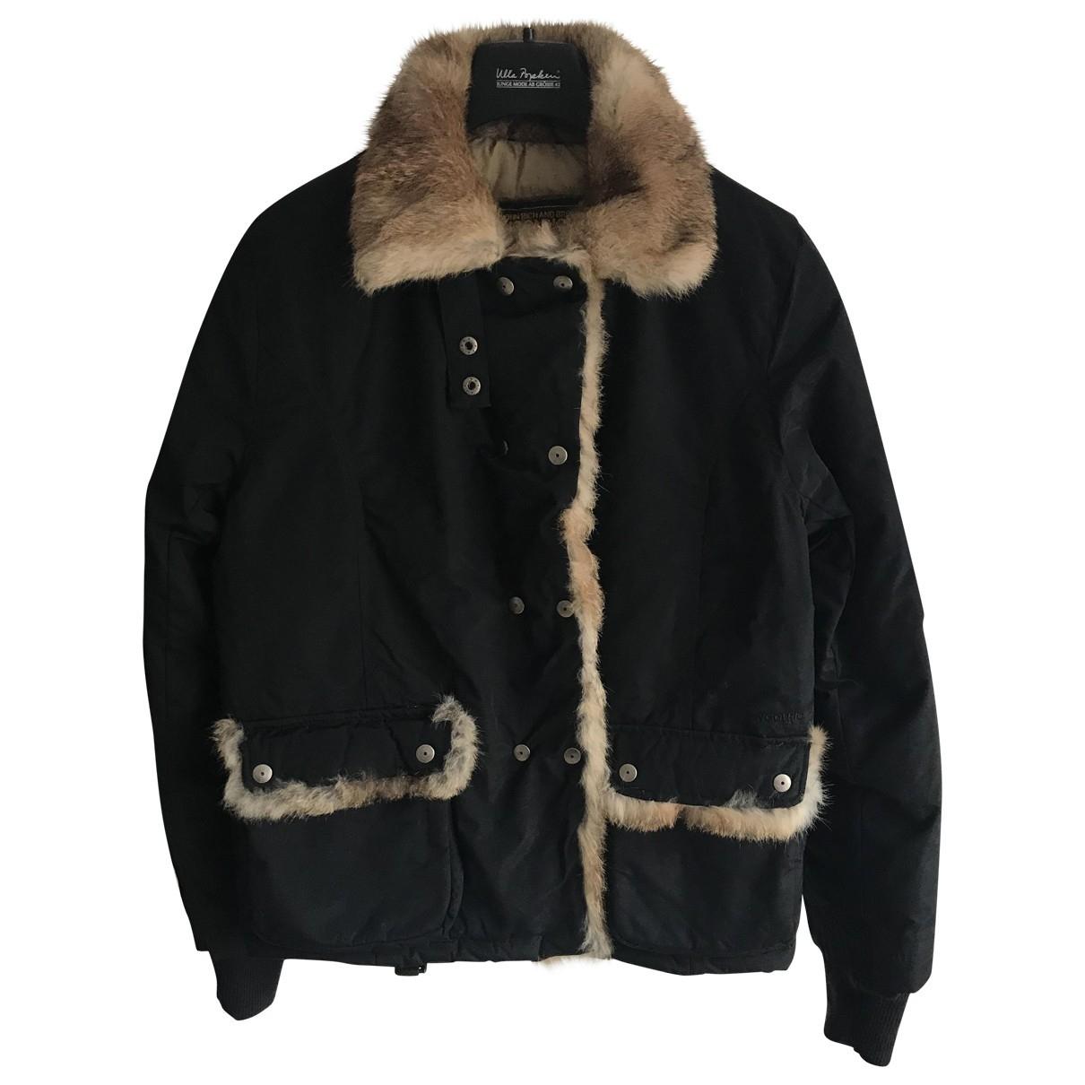 Woolrich \N Jacke in  Schwarz Baumwolle
