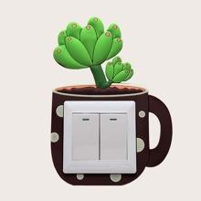Plants Design Switch Sticker