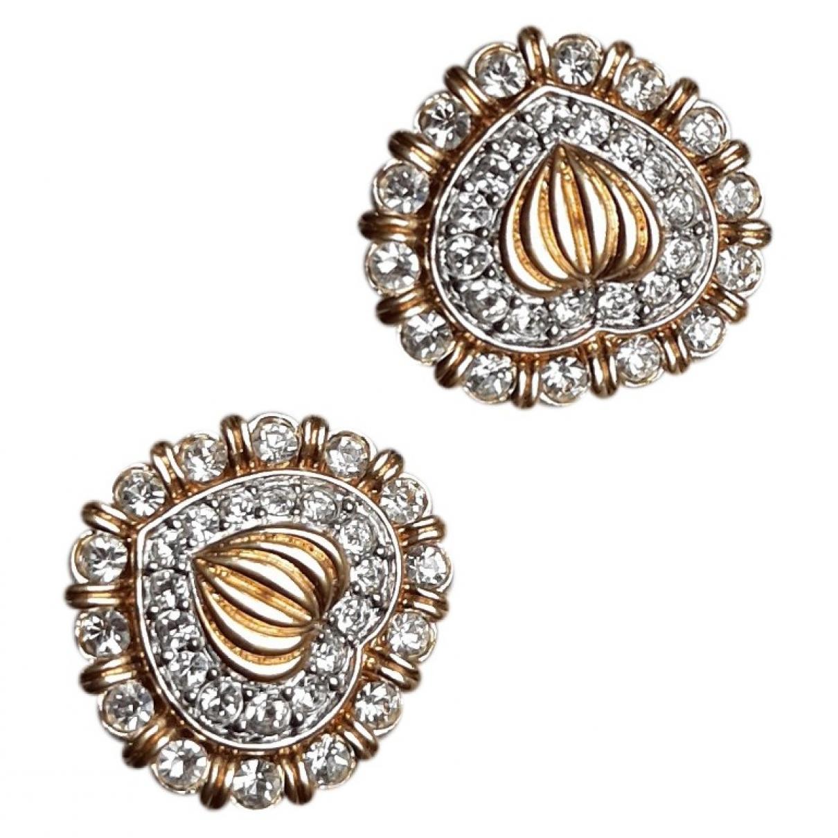 Nina Ricci \N Gold Metal Earrings for Women \N
