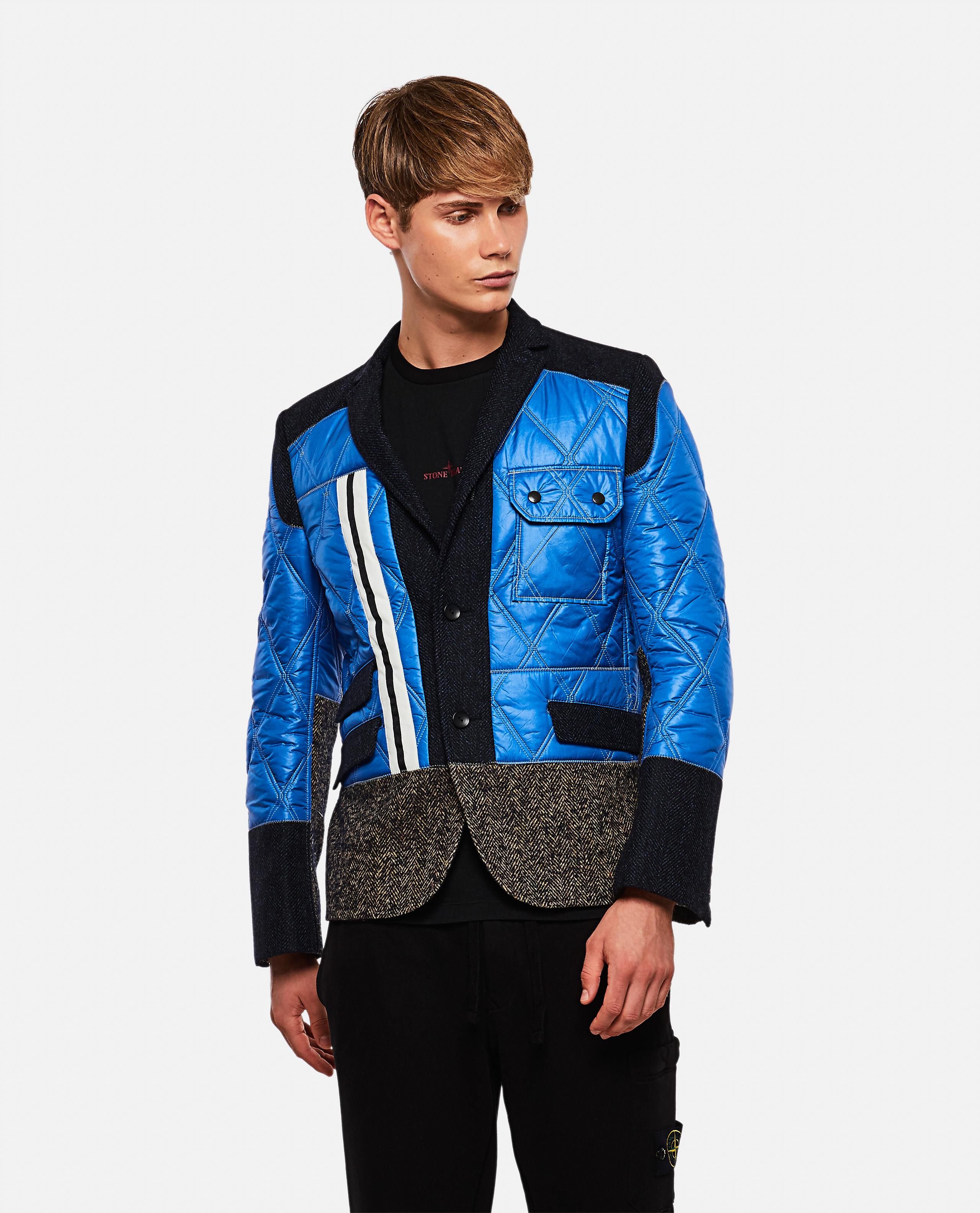 Contrast padded jacket