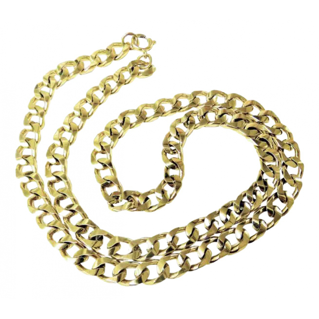 Non Signé / Unsigned Chaînes Gold Gold plated necklace for Women N