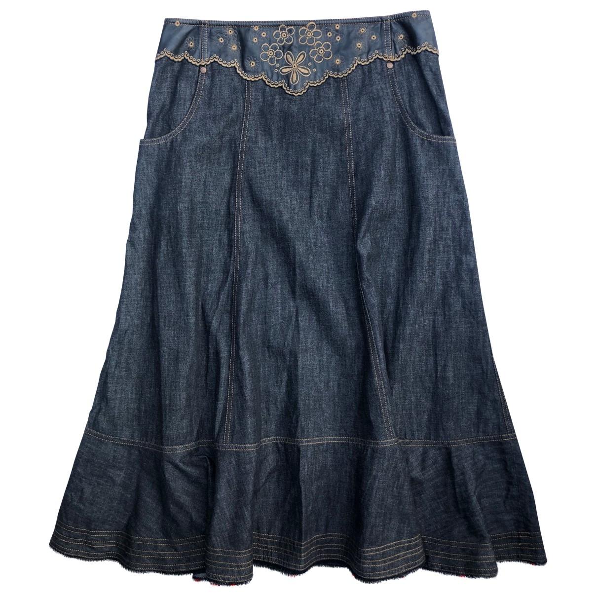 Kenzo \N Rocke in  Blau Denim - Jeans