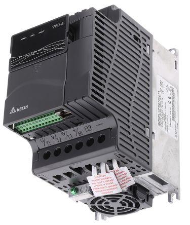 Delta Inverter Drive, 1-Phase In, 0 → 600Hz Out 1.5 kW, 230 V, 9 A, 15.7 A VFD-E