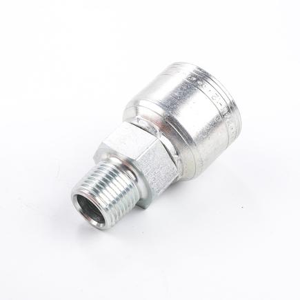 Weatherhead 12Z108 - Fittings   Hose End (Perm) 1 S/1 R Str  08 M Pipe