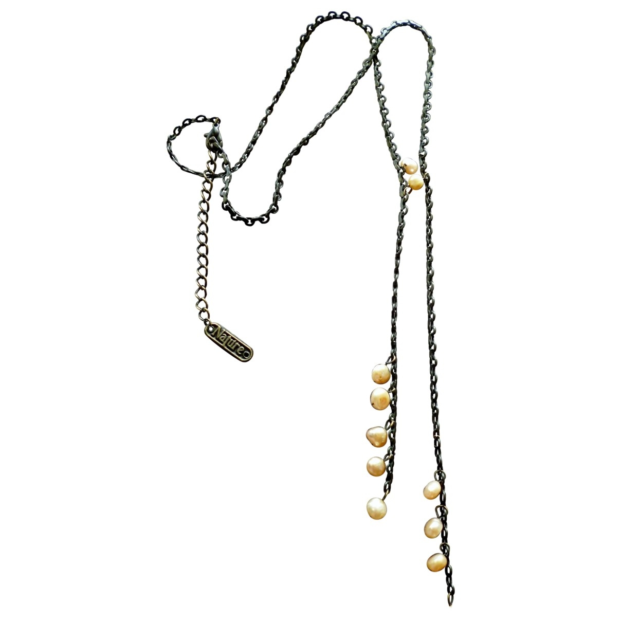 Non Signé / Unsigned \N Pink Pearls Long necklace for Women \N