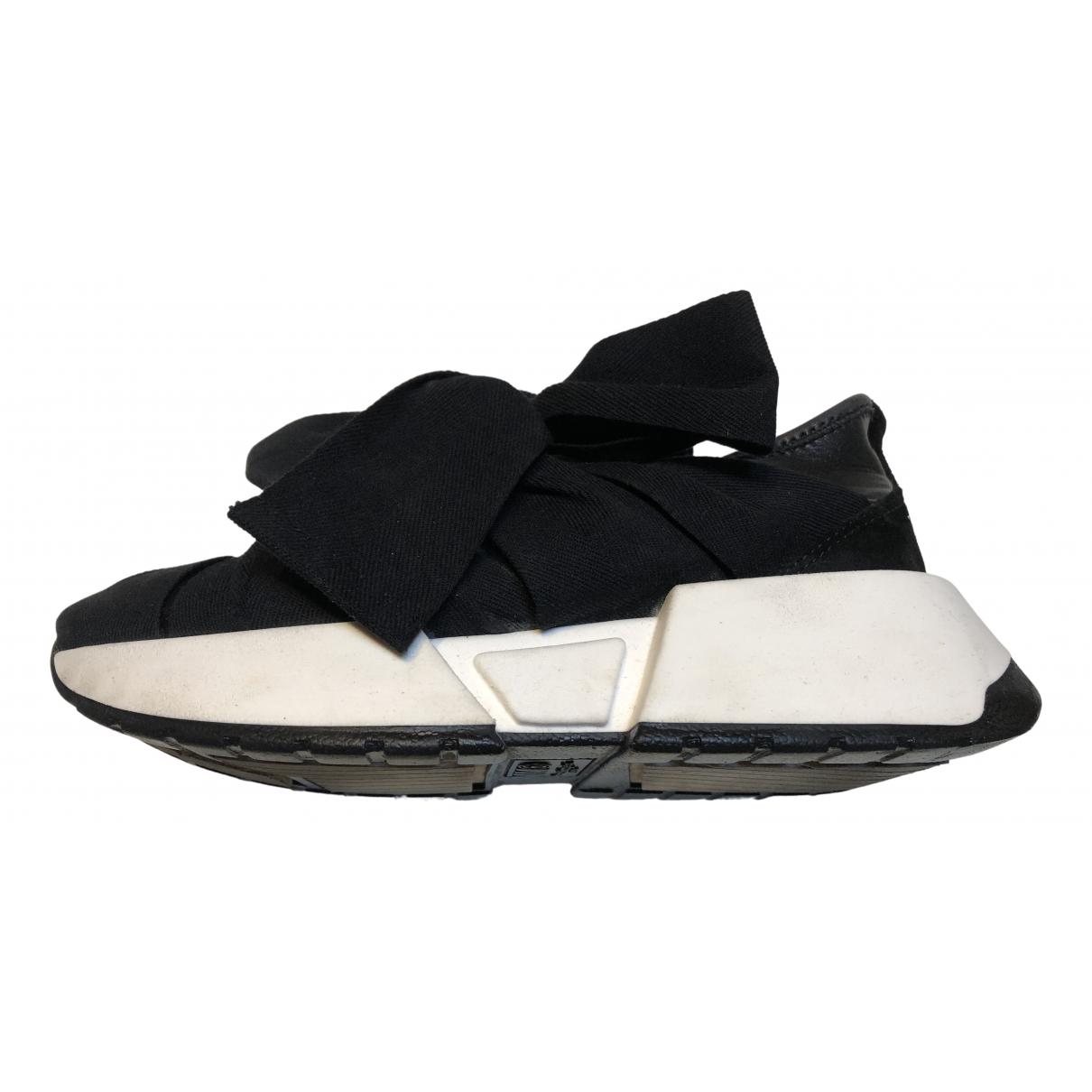 Maison Martin Margiela \N Sneakers in  Schwarz Polyester