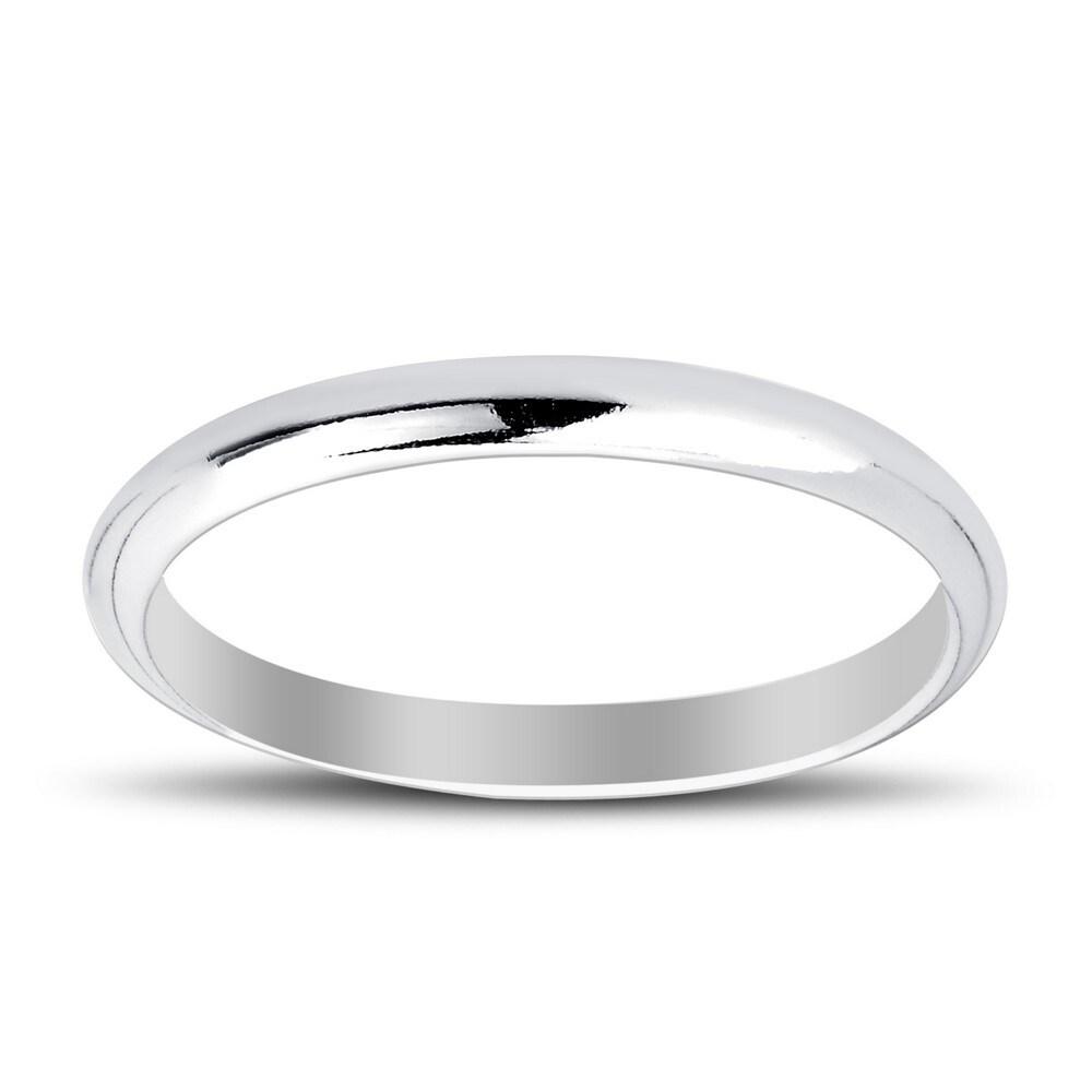 La Preciosa Sterling Silver High Polished 2mm/3mm/4mm/5mm/6mm/7mm/8mm/9mm Women and Men's Wedding Engagement Band Ring (10)