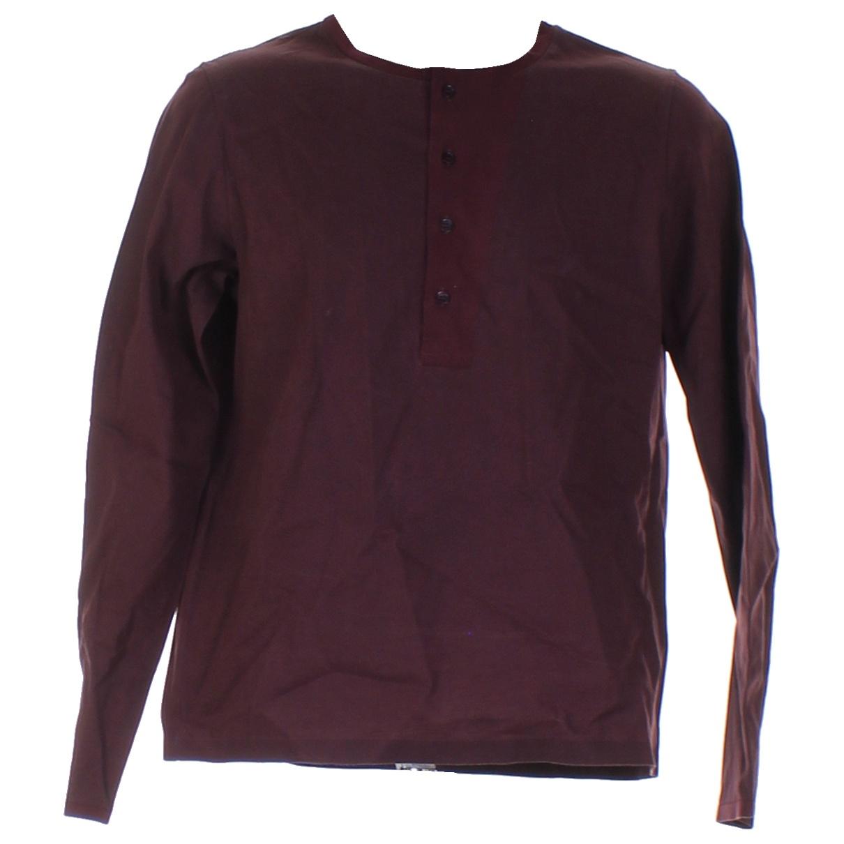 Balenciaga - Tee shirts   pour homme en coton - bordeaux
