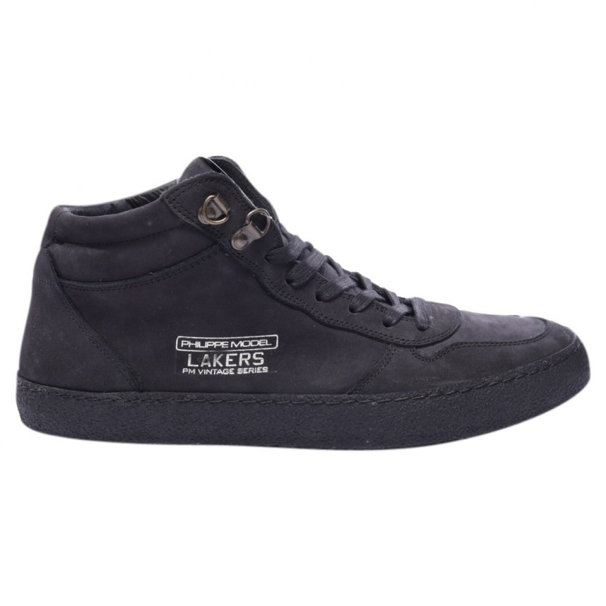 Philippe Model \N Sneakers in  Schwarz Leder