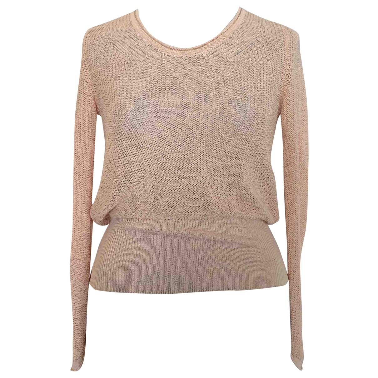Repetto \N Pink Cotton Knitwear for Women 36 FR